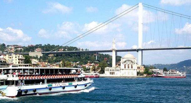 istanbul köprüsü, boğaz turları, tekne turları,