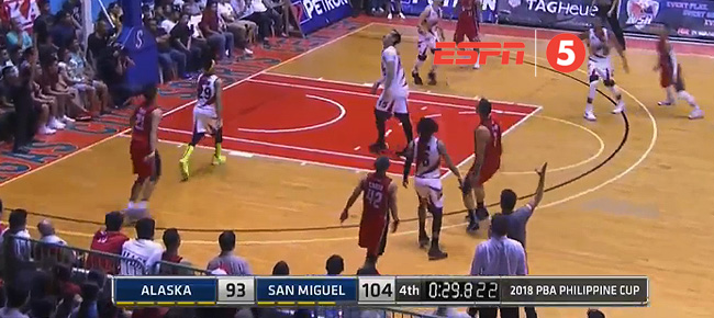 San Miguel def. Alaska, 109-96 (REPLAY VIDEO) February 17