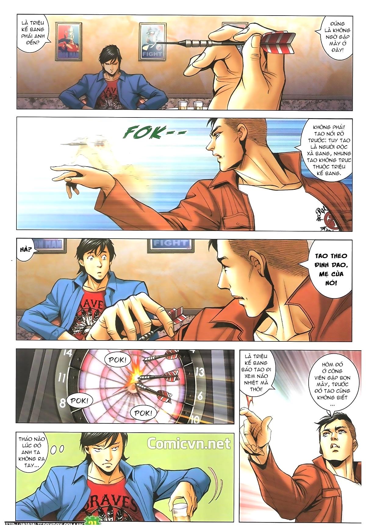 Người Trong Giang Hồ - Chapter 1610: A Khắc đến thăm - Pic 18