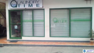 Glass Window Decals - Laundry Time, General Trias, Cavite