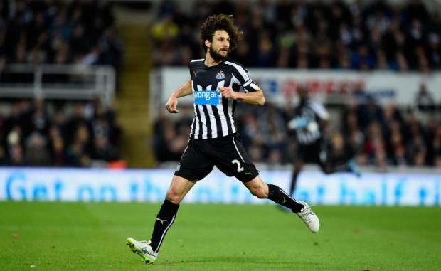 Cầu thủ Fabricio Coloccini của câu lạc bộ Newcastle