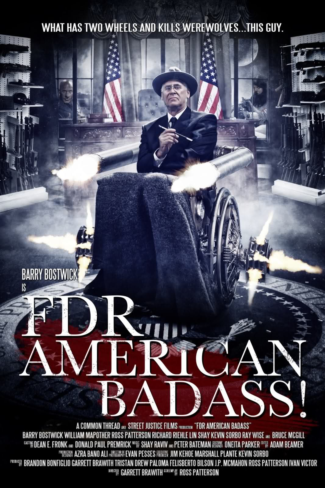 In The Mouth Of Dorkness: Poster & Trailer: FDR - American ...Badass Presidents Fdr