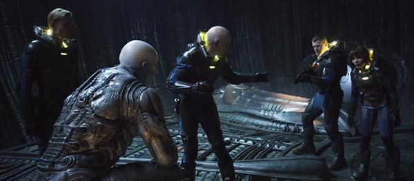 Alien – Covenant (2017) | Tripulçção de Prometheus com o Engenheiro | Blog #tas