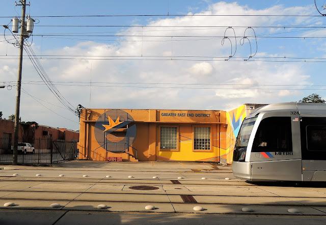 Metro Train on Harrisburg Boulevard