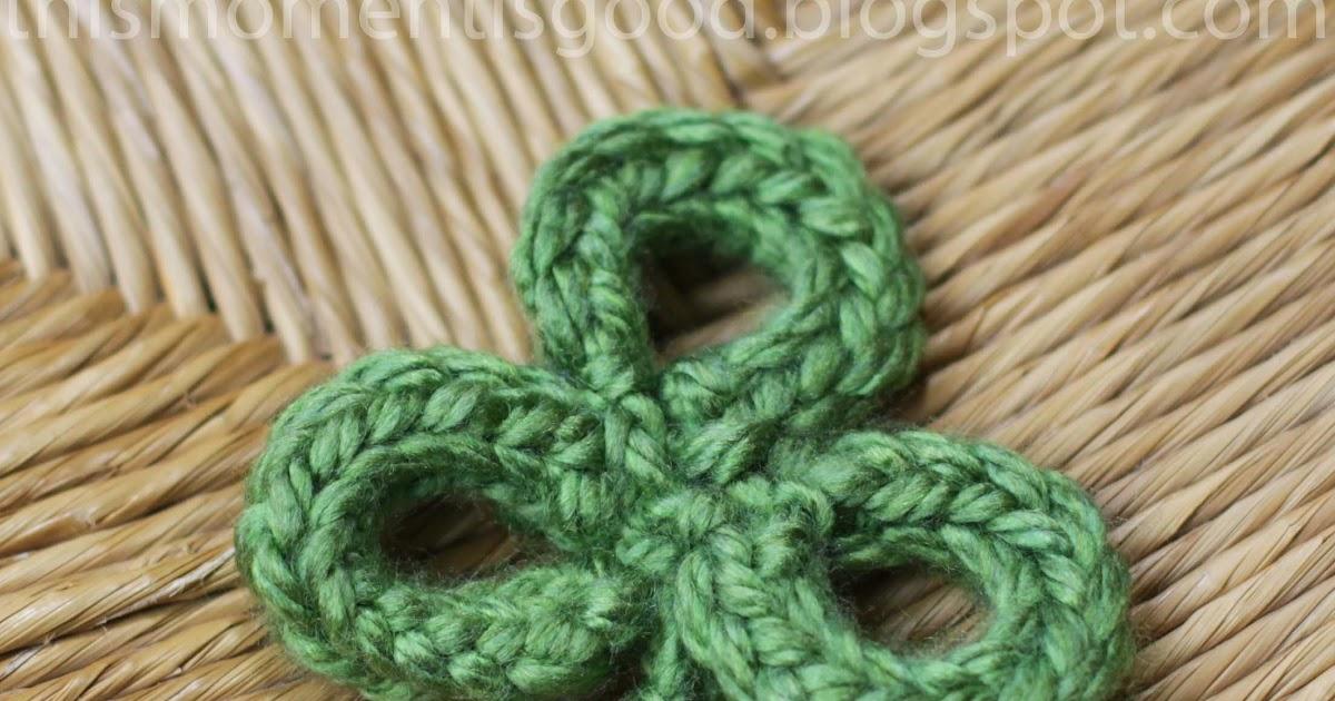 Loom Knit Shamrock3 Leaf Clover Pattern Loom Knitting By This