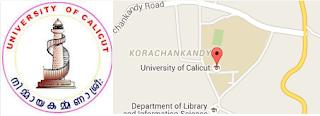 University of Calicut कालीकट विश्वविद्यालय,Education, University of India,