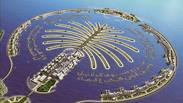 Contoh Reklamasi di Dubai