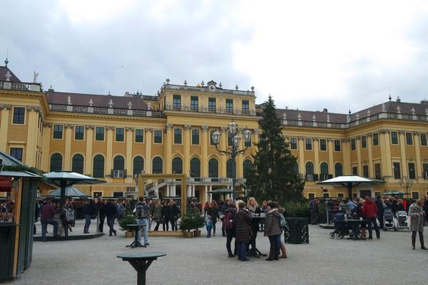 vienne marché noël schönbrunn