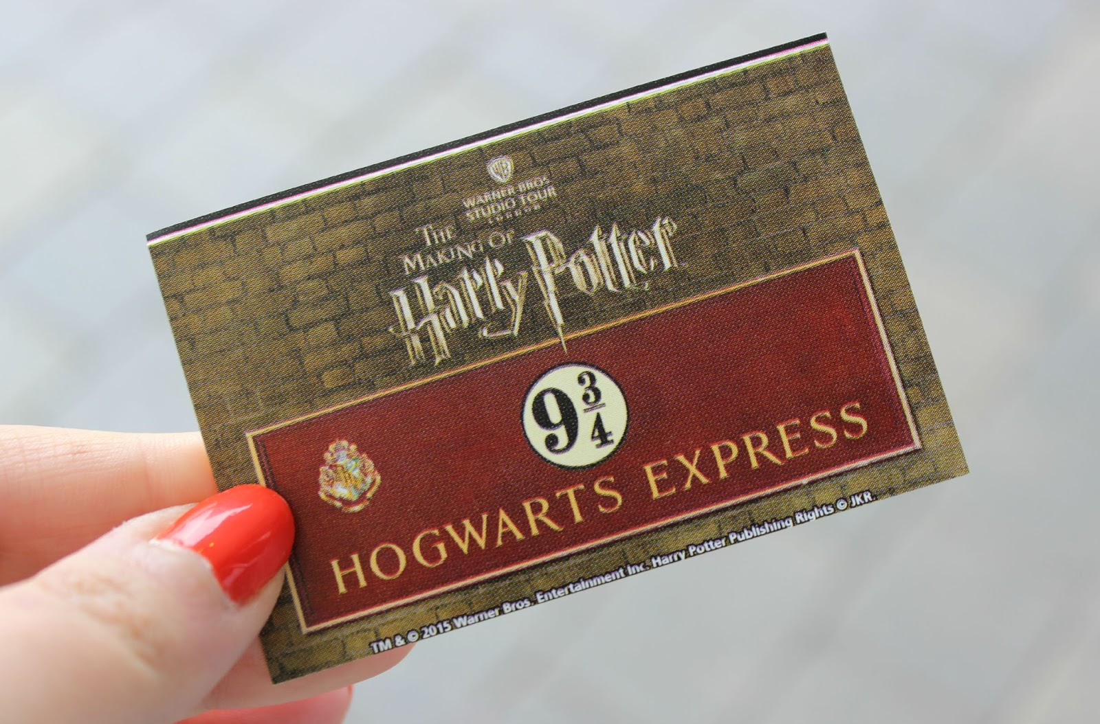 harry potter museum tickets