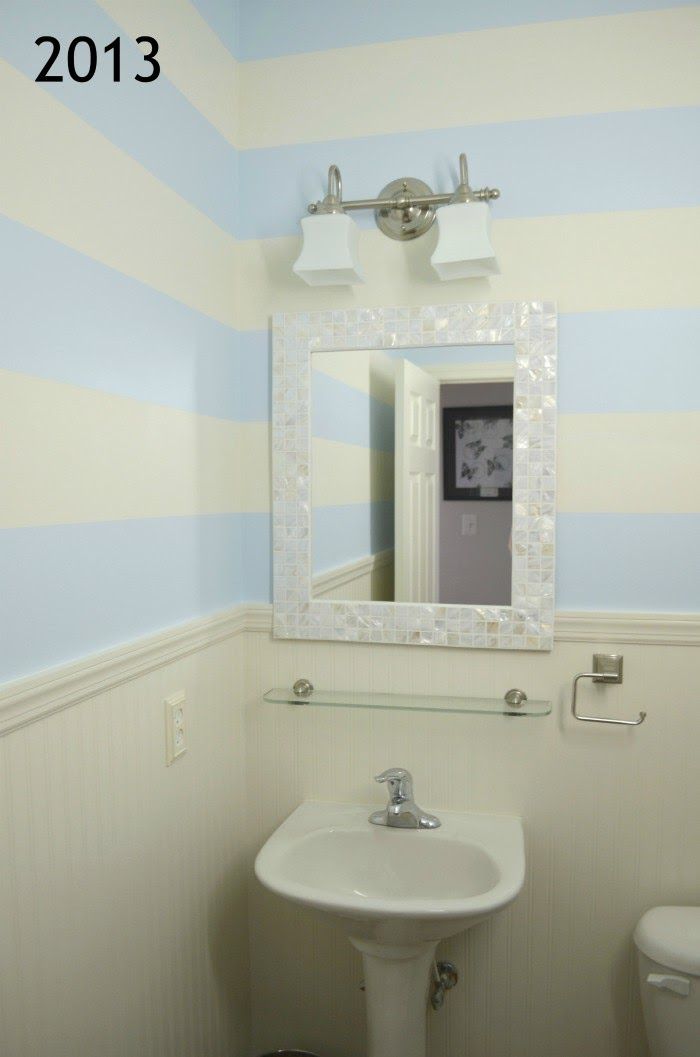 2013 Powder Room Makeover