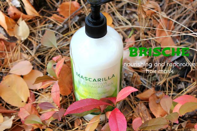 Отзыв: Маска против выпадения волос с растительной плацентой - Brische Plant Placenta.
