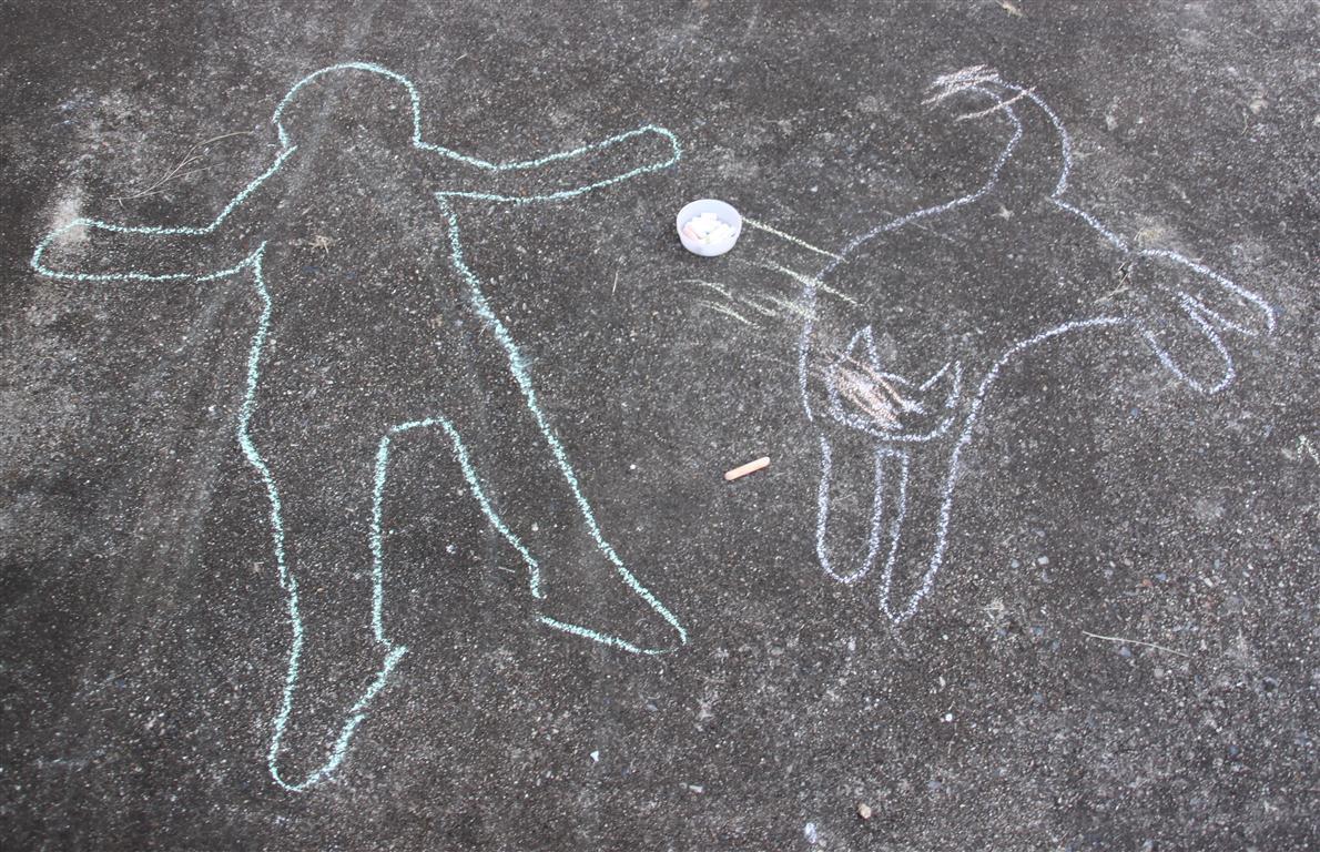 Arty Crafty Studio Chalk Art