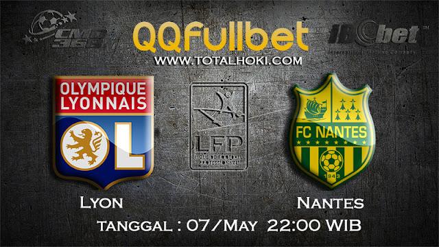 PREDIKSIBOLA - PREDIKSI TARUHAN LYON VS NANTES 7 MAY 2017 (FRANCE LIGUE 1)