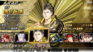 Game Basara ppsspp Screenshot