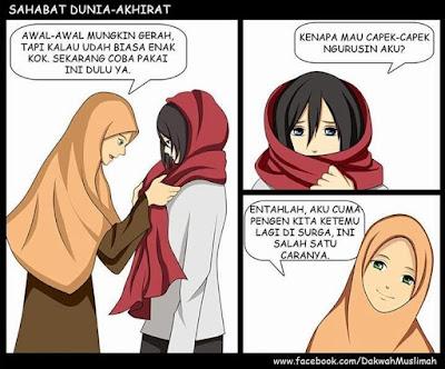 menjadi muslimah sejati
