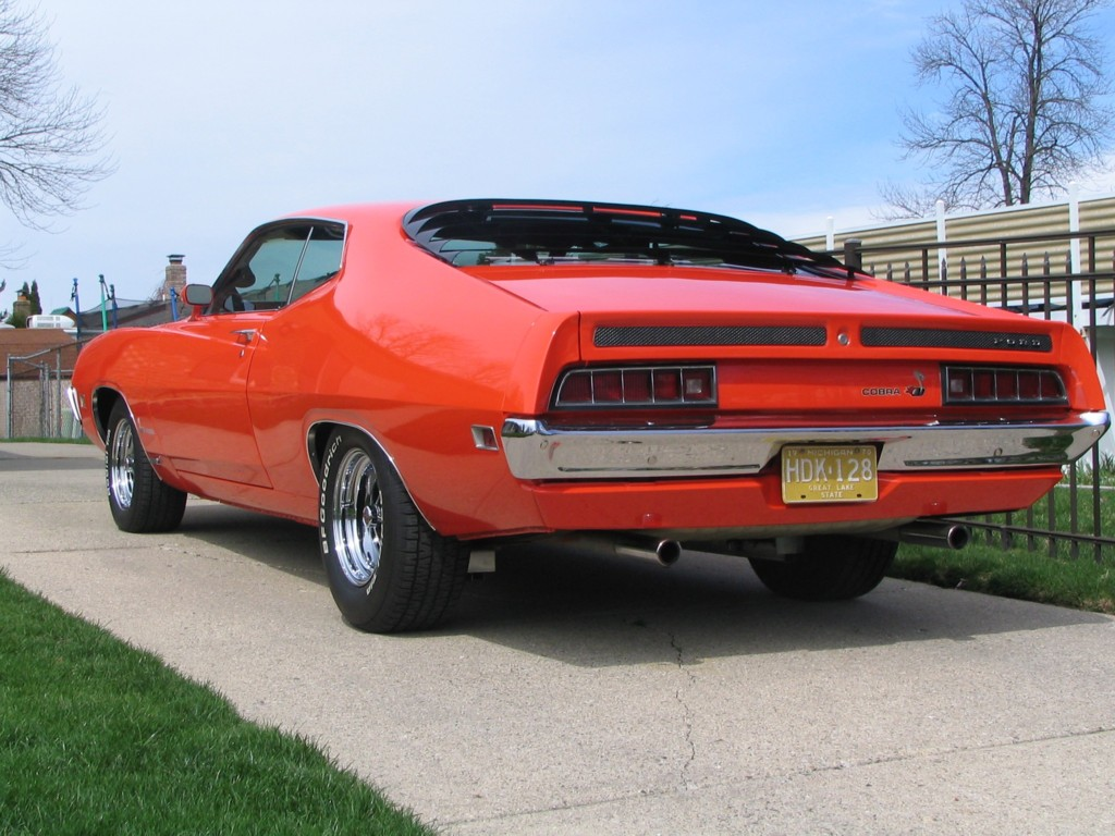 Muscle Car 1969 Ford Torino Cobra Overview Recent Muscle Cars Info