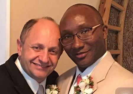 Outrage as Kenyan Gay Man Marries White American Mathematics Professor (Photo)