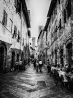 San Gimignano street life