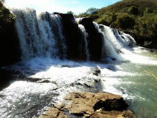 Primeira Cachoeira do Parque das Cachoeiras, em Vacaria