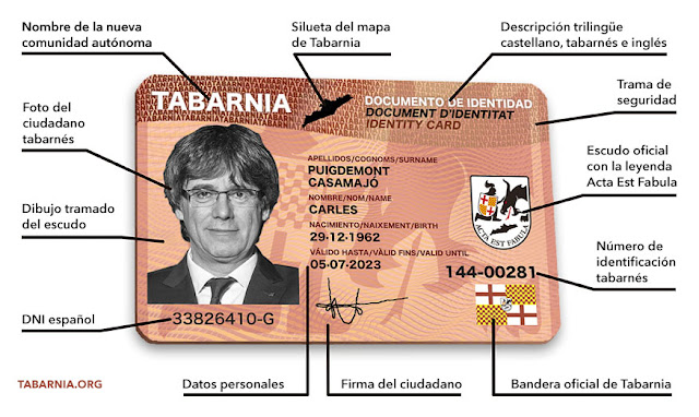 Documento Regional Tabarnés de Plataforma por Tabarnia