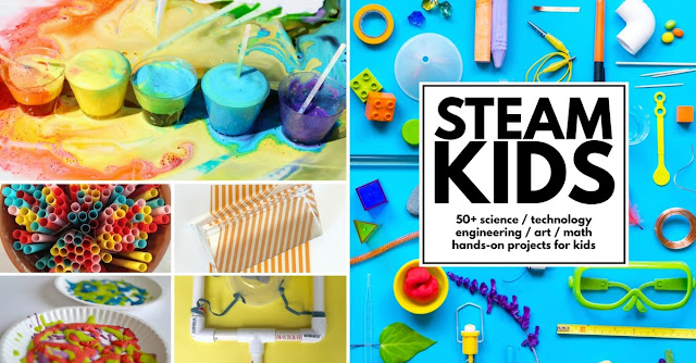 50 Hands-On STEAM Activities for Kids