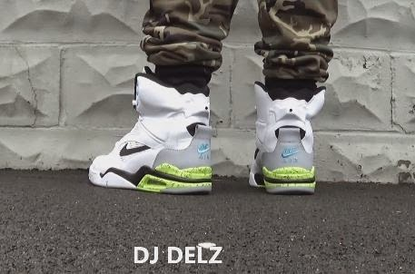 f6d6a7d626d THE SNEAKER ADDICT  2014 Nike Air Command Force Pump Sneaker On Foot