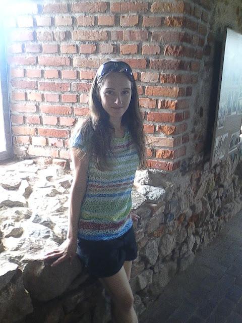 Zwiedzanie ruin zamku w Czorsztynie