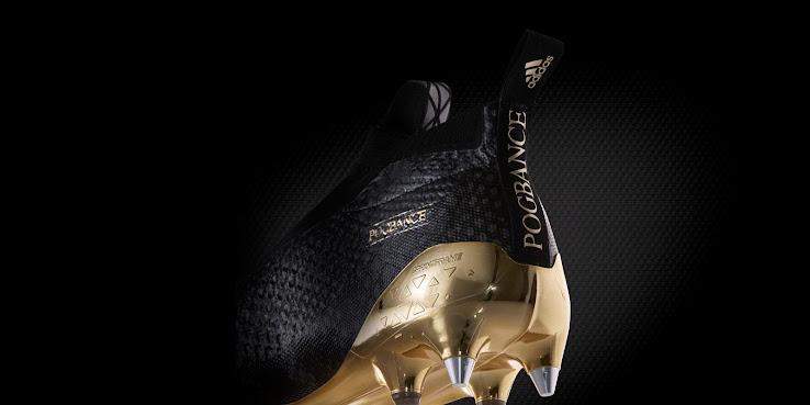 the latest 61776 4be5f Black  Gold Adidas Ace PureControl Paul Pogba Boots Released