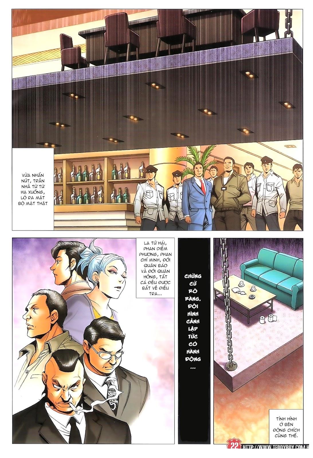 Người Trong Giang Hồ chapter 1696: giết vào vượng giác trang 21
