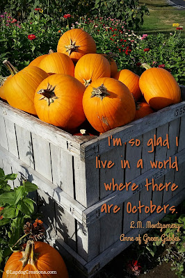 pumpkins fall Anne of green gables quote