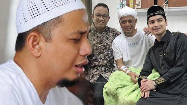 Kondisi Terbaru Ustad Arifin Ilham, Tetap Tersenyum Meski Wajah Pucat Pasi