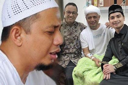 Kondisi Terbaru Ustad Arifin Ilham, Tetap Tersenyum Meski Wajah Pucat Pasi | JabarPost Media