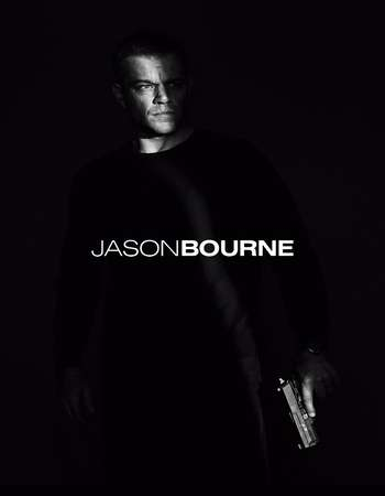 Poster Of Jason Bourne 2016 Hindi Dubbed 600MB CAMRip x264 Free Download Watch Online Worldfree4u