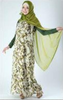 Baju muslim syar'i modis