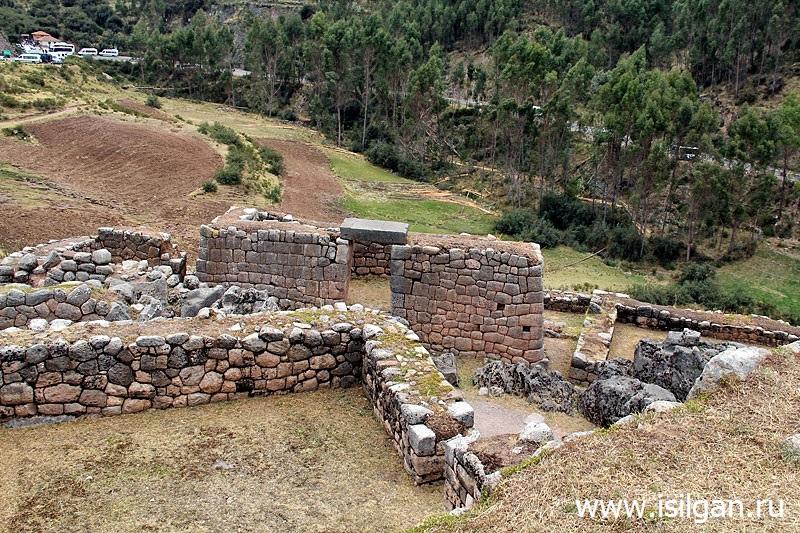 Пука-Пукара (Puca Pucara). Священная Долина Инков. Перу