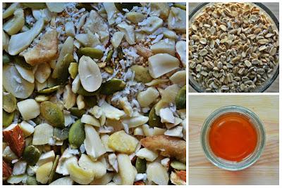 Domowa granola - składniki