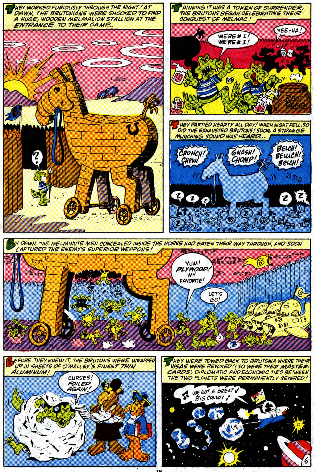 Read online ALF comic -  Issue #9 - 15