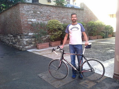 carbon road bike for rent in Brescia Italy