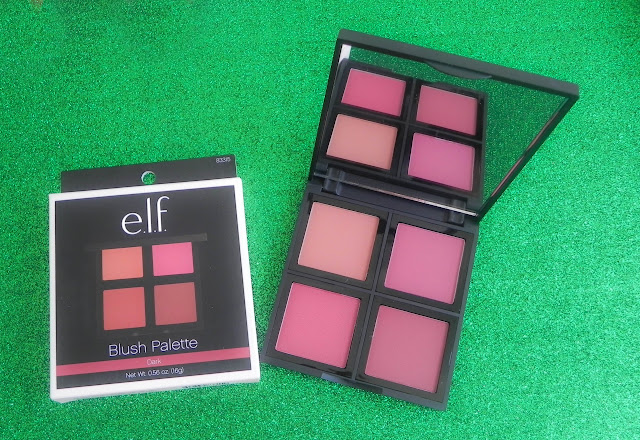 paleta elf 4 coloretes dark