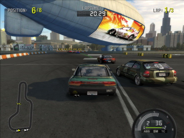 Need for Speed Prostreet PC Games Screenshots