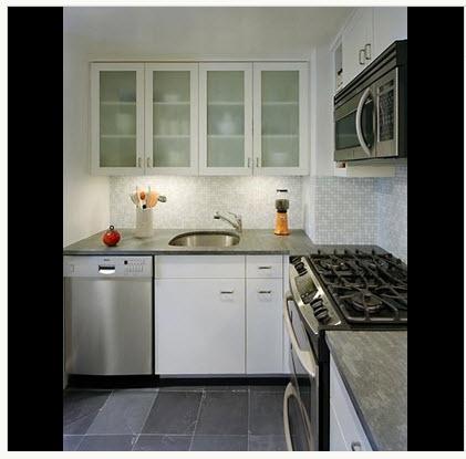 diseo de cocina con iluminacin artificial