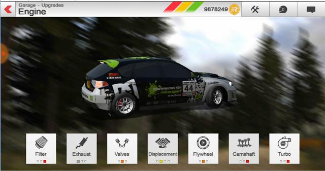 لعبة Rush Rally 3 1.40  افضل لعبة سباق سيارات
