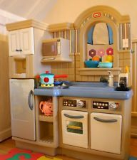 Little Tikes Kitchen With Grill Game - Kitchen Remodel, Cabinet ...