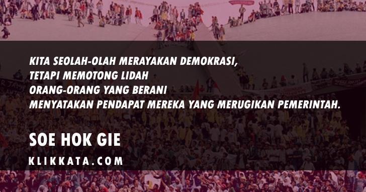 Kata Kata Gerakan Mahasiswa Kumpulan Pemikiran Kritis