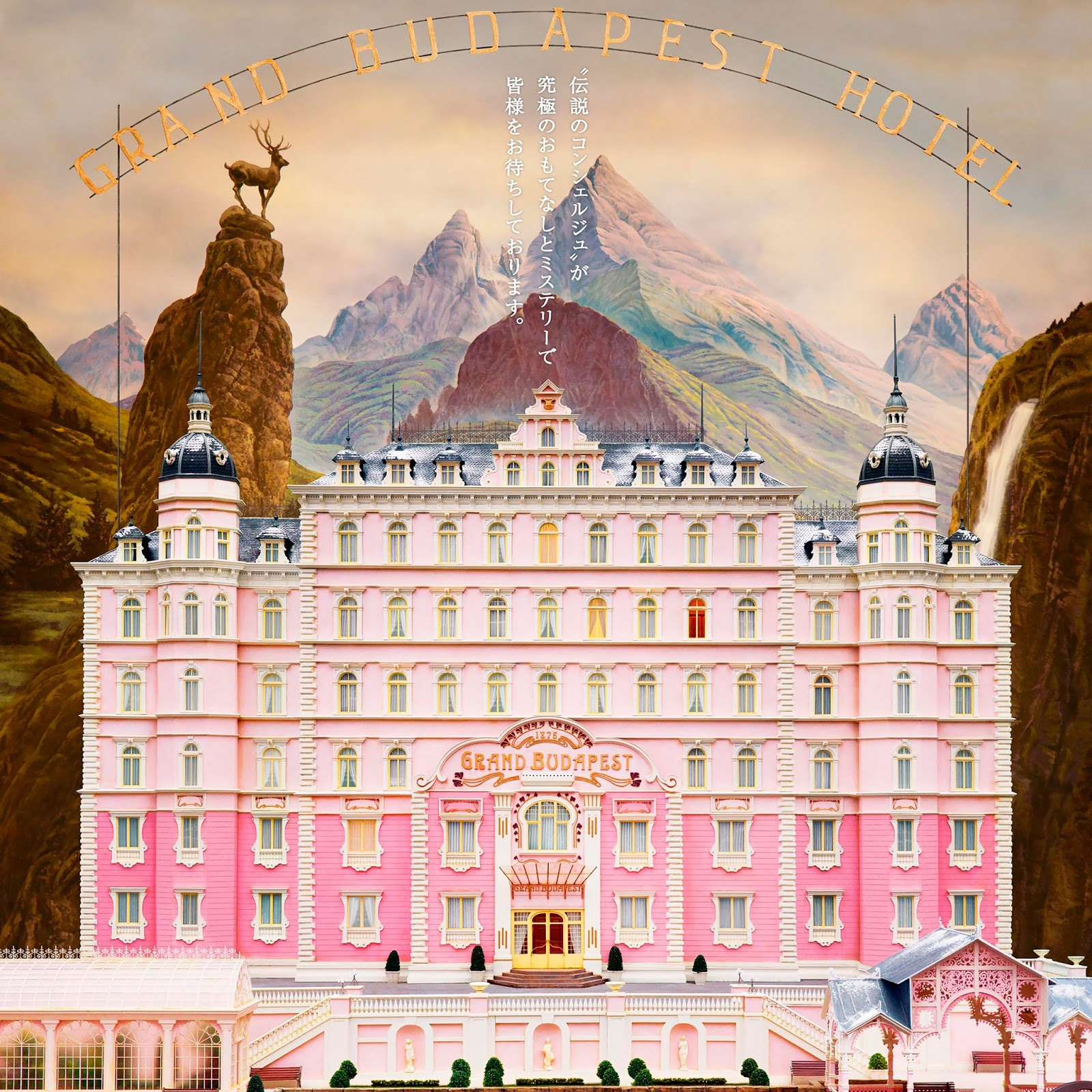 The Grand Budapest Hotel IPad Wallpaper