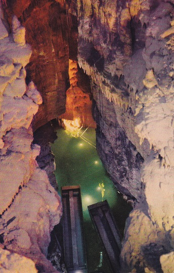 Kentucky Travels Crystal Lake In Mammoth Cave Kentucky