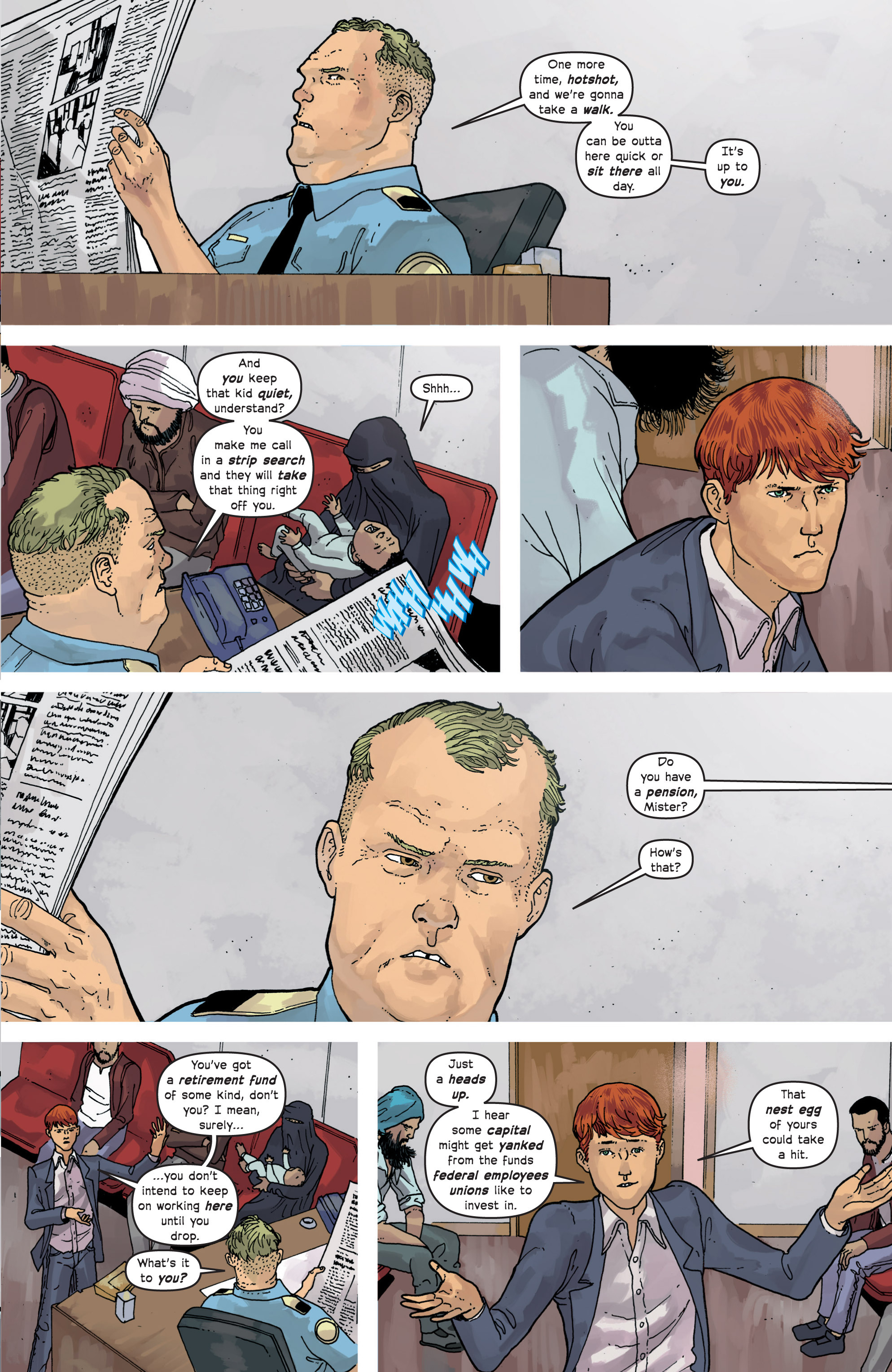 Read online Great Pacific comic -  Issue #10 - 5