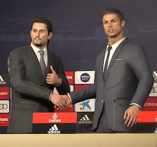 PES 2019 Real Madrid Press Room by Ginda01