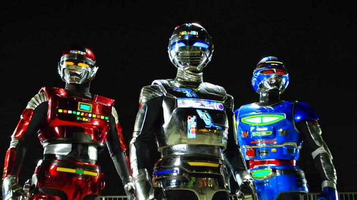 Space Squad - Gavan VS Dekaranger