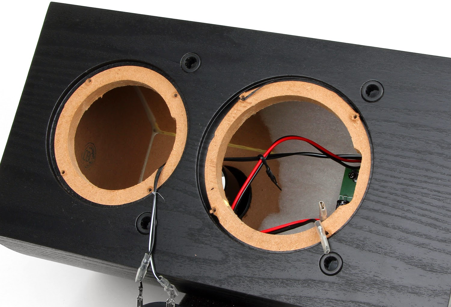 Budget Wiring The Reality Of Copper Clad Aluminum Wire Budgetphile Vs Tweeter Is A Full 1 Soft Dome Unit With Pronounced Waveguide Front Bezel Bezels Are All Rage In Contemporary Speaker Designs For Their